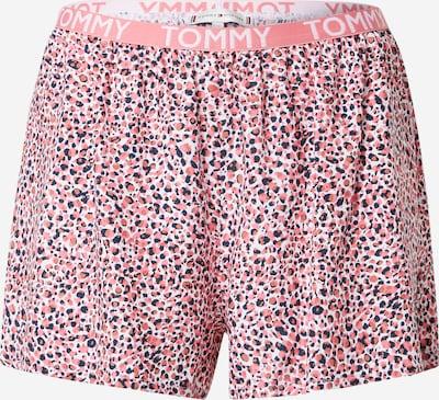 Tommy Hilfiger Underwear Pyjamashorts in dunkelblau / hellpink / weiß, Produktansicht