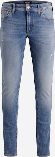 JACK & JONES Liam Original SBD 010 Skinny Fit Jeans in blue denim, Produktansicht