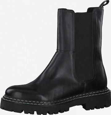MARCO TOZZI Chelsea Boots in Schwarz