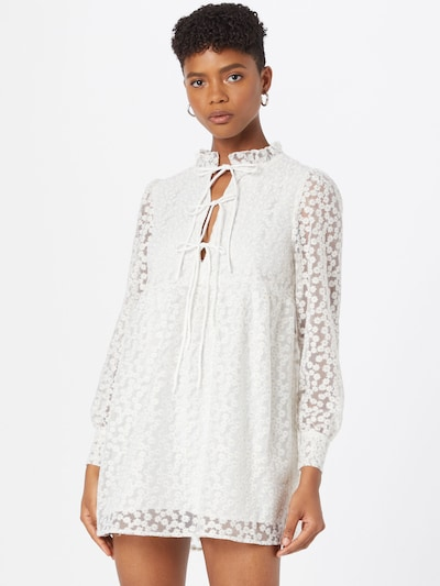 Gina Tricot Dress 'Dea' in Off white, View model