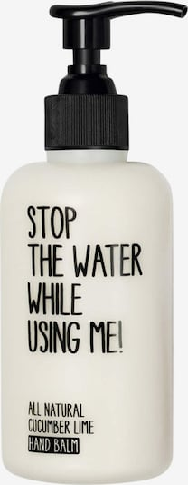 STOP THE WATER WHILE USING ME! Handbalsam 'Cucumber Lime' in weiß, Produktansicht