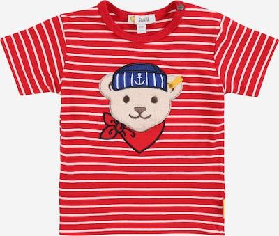 Steiff Collection Camiseta en mezcla de colores / rojo / blanco, Vista del producto