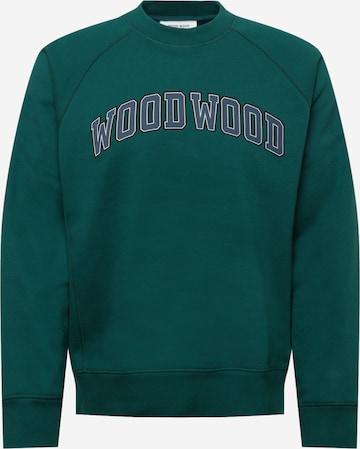WOOD WOOD Sweatshirt 'Hester' in Grün