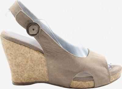 Graceland Plateau-Sandalen in 37 in creme / wollweiß, Produktansicht