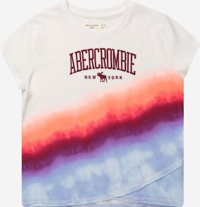 Abercrombie & Fitch Shirt 'MAY' in flieder / orange / pitaya / purpur / weiß, Produktansicht
