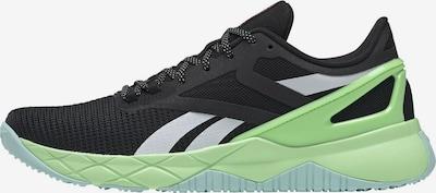 REEBOK Sportschoen 'Nanoflex TR' in de kleur Appel / Zwart / Wit, Productweergave