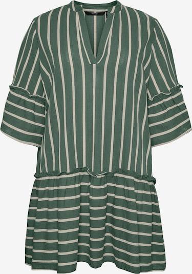 Vero Moda Curve Robe-chemise 'AFUA' en vert pastel / blanc, Vue avec produit
