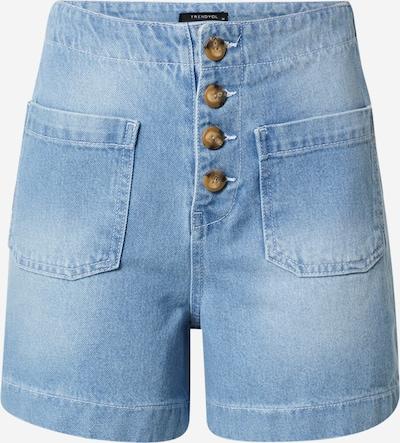 Trendyol Shorts in de kleur Blauw denim, Productweergave