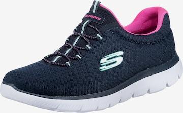 SKECHERS Sneaker 'Summits' in Blau