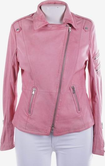 Schyia Lederjacke / Ledermantel in XXL in rosa, Produktansicht