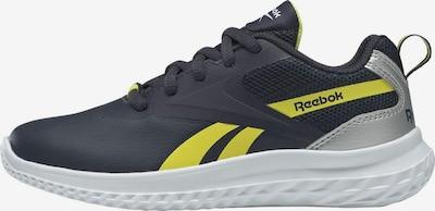 REEBOK Sportschuh in navy / gelb / silber, Produktansicht