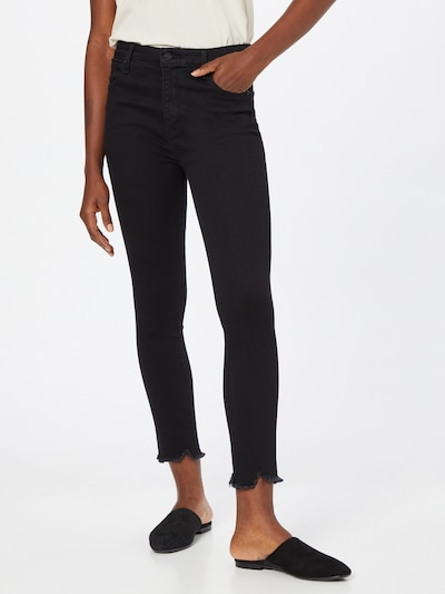 Jeans Abercrombie & Fitch pe negru, Vizualizare model