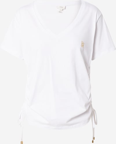 River Island T-Krekls, krāsa - zeltaini dzeltens / balts, Preces skats