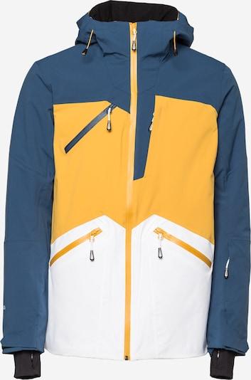 ICEPEAK Спортно яке 'CALAMUS' в синьо / жълто / бяло, Преглед на продукта
