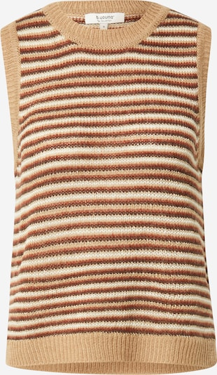 Pulover 'MILA' b.young pe nisipiu / maro / roșu / alb, Vizualizare produs