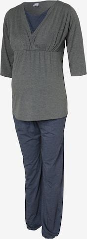 Bebefield Pyjama 'Wellness' in Grau