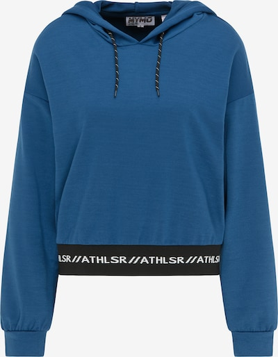 myMo ATHLSR Sports sweatshirt in blue / black / white, Item view
