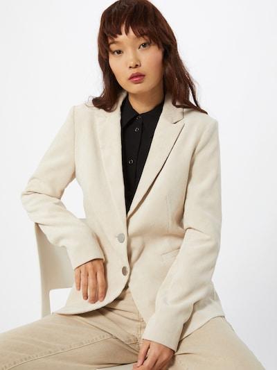 COMMA Blazer in creme, Modelansicht