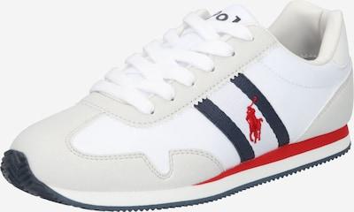 POLO RALPH LAUREN Zapatillas deportivas en beige / rojo / blanco, Vista del producto