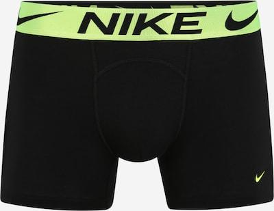 NIKE Sous-vêtements de sport en citron vert / noir, Vue avec produit
