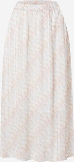 KAREN BY SIMONSEN Svārki 'Hixie', krāsa - bēšs / opālisks / balts, Preces skats