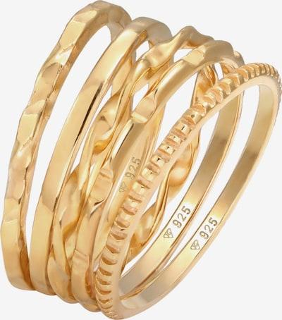 ELLI Parure de bijoux 'Set' en or, Vue avec produit