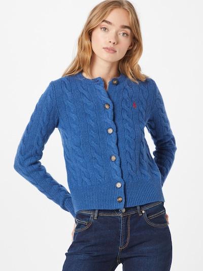 Polo Ralph Lauren Cardigan in royalblau / rot, Modelansicht