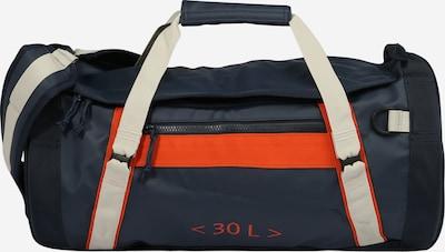 HELLY HANSEN Sporttasche in navy / hellgrau / orangerot, Produktansicht