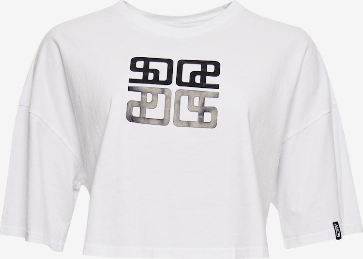 Superdry Shirt in Zwart / Wit CbxoakvX