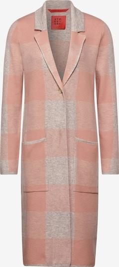 STREET ONE Mantel in grau / rosa, Produktansicht