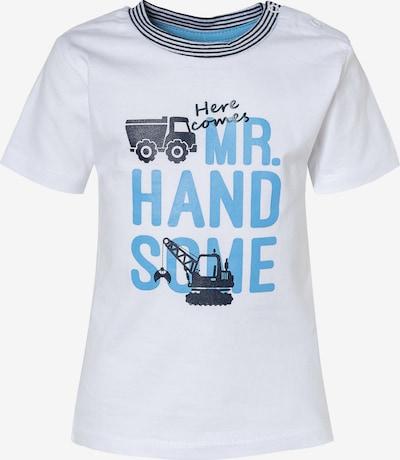 SALT AND PEPPER Shirt in hellblau / dunkelblau / weiß, Produktansicht
