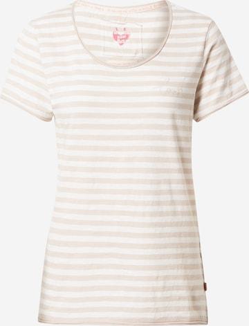 LIEBLINGSSTÜCK Shirt 'Cia' in Beige