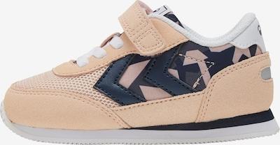 Hummel Sneaker in dunkelblau / apricot, Produktansicht