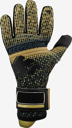 KEEPERsport Handschuh in gelb, Produktansicht