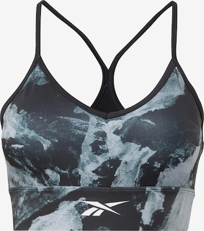 Reebok Sport Biustonosz sportowy w kolorze opal / czarny / białym, Podgląd produktu