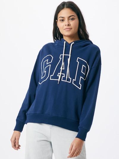 GAP Sweatshirt in blau / weiß: Frontalansicht