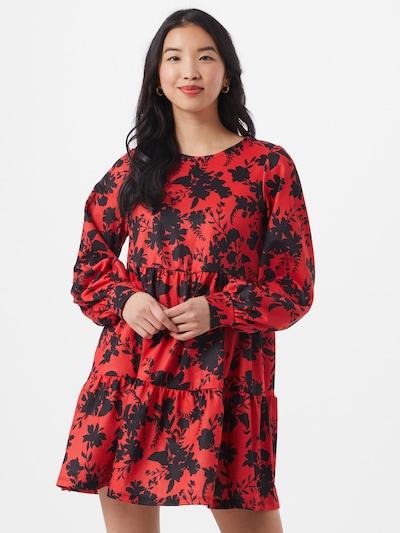 River Island Kleid in rot / schwarz, Modelansicht
