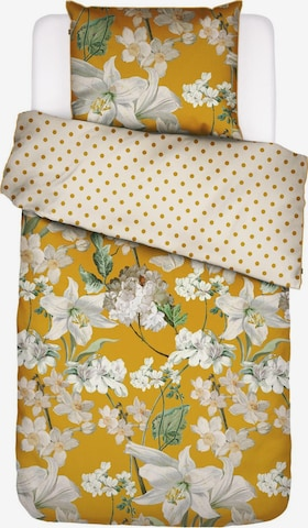 ESSENZA Duvet Cover 'Rosalee' in Yellow