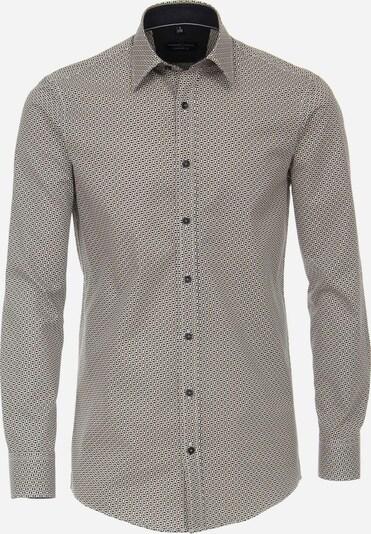 Venti Freizeithemd in gelb / grau / schwarz, Produktansicht