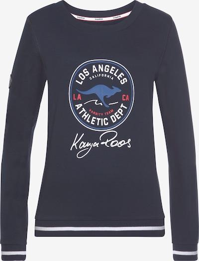 KangaROOS Sweatshirt in marine, Produktansicht