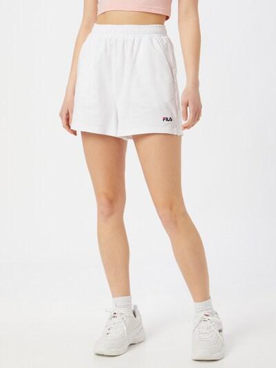 FILA Shorts 'EDEL' in weiß, Modelansicht