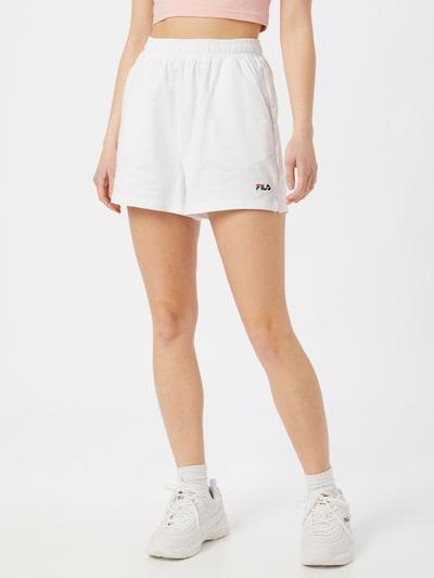 FILA Hlače 'EDEL' u bijela, Prikaz modela