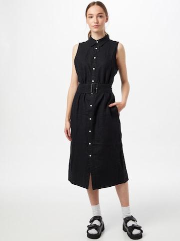 Polo Ralph Lauren - Vestido camisero en negro