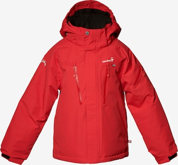Isbjörn of Sweden Outdoor jacket 'HELICOPTER' in Red