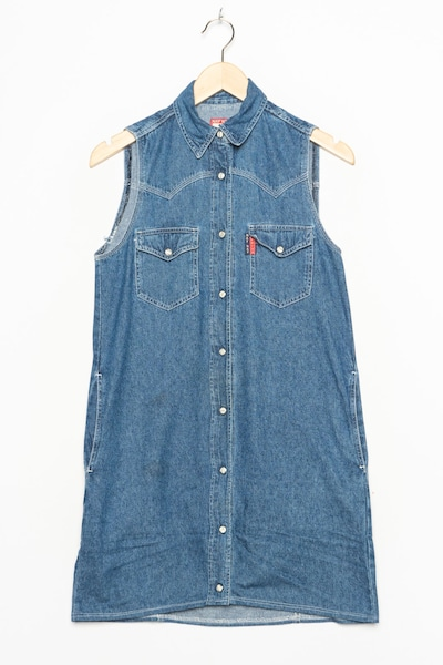 NAF NAF Jeanskleid in S in blue denim, Produktansicht