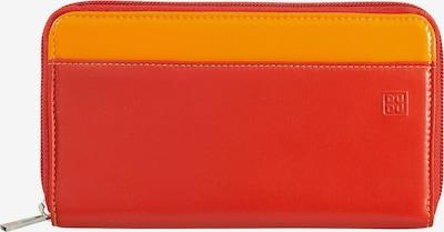 DuDu Porte-monnaies en citron vert / orange / rouge orangé, Vue avec produit