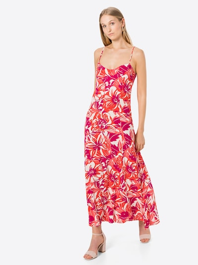 Fabienne Chapot Kleid 'Sunny' in rot / rotviolett / weiß, Modelansicht