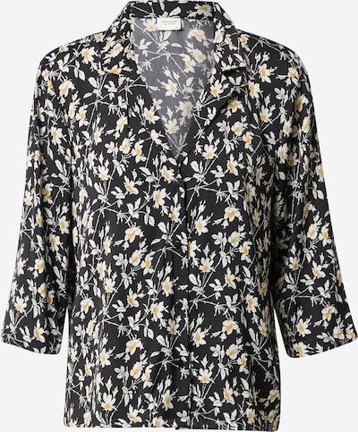 JACQUELINE de YONG Blouse in de kleur Geel / Zwart / Wit, Productweergave