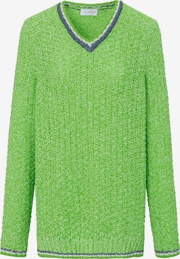 Looxent Pullover mit V-Ausschnitt in grün, Produktansicht