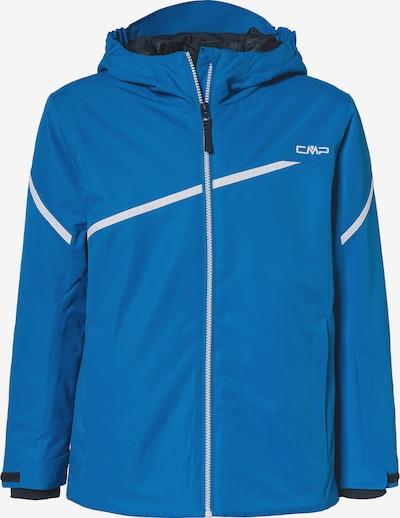 CMP Sportjacke 'FIX' in blau / weiß, Produktansicht
